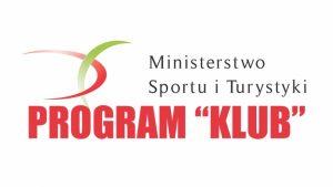 """Ministerstwo Sportu i Turystyki Program """"Klub"""""""